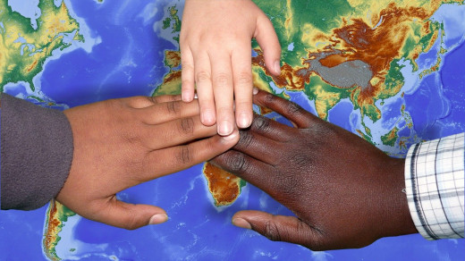 We all live on the same rock, so why is skin color so important to you?