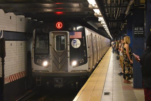 New York City Subway at 42nd Street