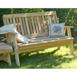 Decorative Wooden Benches for Your Yard & Home