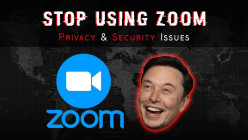 Stop Using Zoom Video Conferencing App