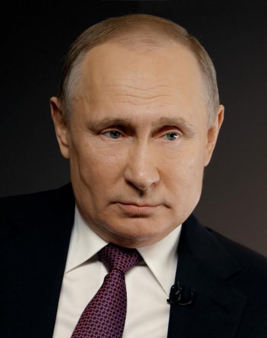 Vladimir Putin Official Portrait