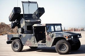 """A Humvee with Stinger missiles mounted. They're called """"Avengers"""" for a reason, they're a pilot's worst nightmare."""
