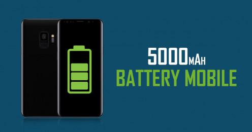 5000mAh Lithium Polymer Battery