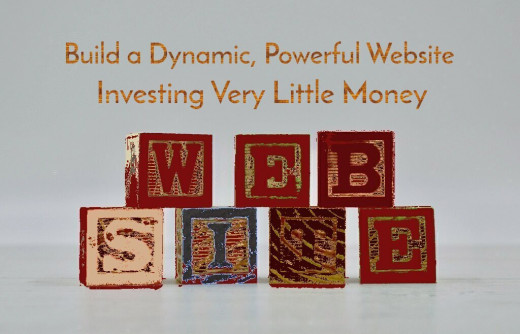 """Website Spelled Out in Building Blocks"""