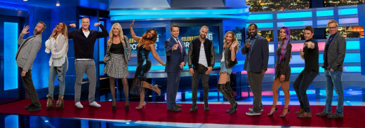 The Big Brother Celebrity cast of season 2