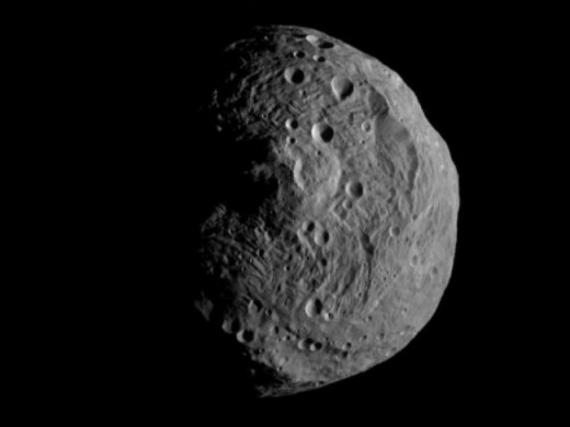 Vesta is only half the size of Ceres