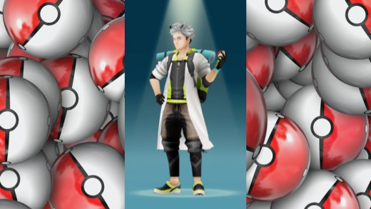Professor Willow from Pokemon Go
