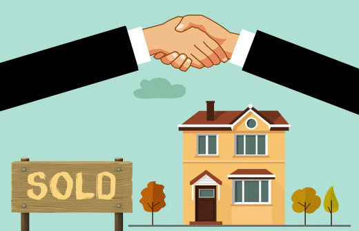 If you buy a house, if you move you'll have to close, sell and buy, and do a lot of paperwork.