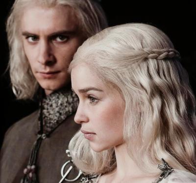 The last surviving members of House Targaryen.