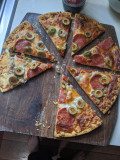 Fractions - Using a Pizza to Illustrate Fractions