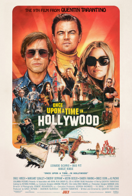 Once Upon a Time in Hollywood promotional and theatrical movie poster