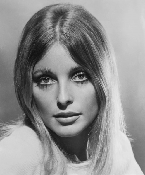 A picture of the late real life Sharon Tate for a still from her movie Valley of the Dolls.