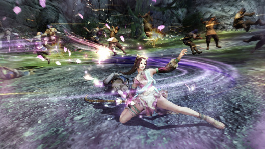 A screen shot from Dynasty Warriors 8