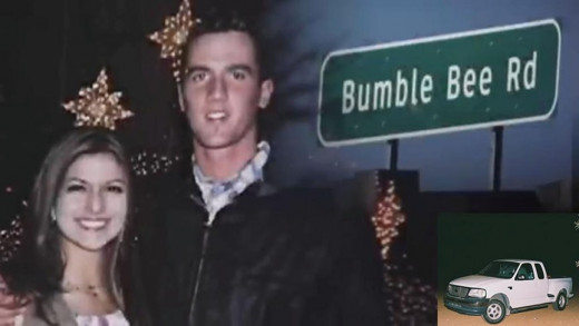 Lisa Gurrieri (left), and Brandon Rumbaugh (right) are a Phoenix couple who were murdered off I-17 and Bumble Bee Road, north of Phoenix.