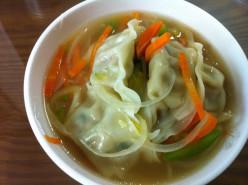 Wonton Prawn Dumpling Soup