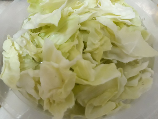 alternative vegetable; Chinese cabbage