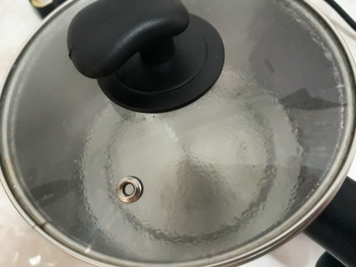 bring water to boil