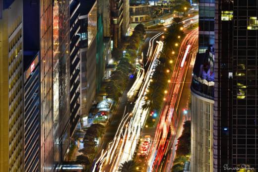 Rat race in the city