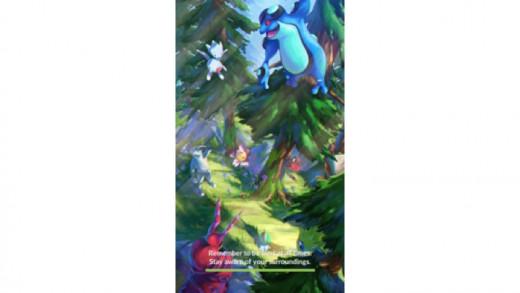 Pokemon Go Load Screen