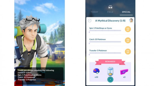 Pokemon Go A Mythical Discovery 1/8