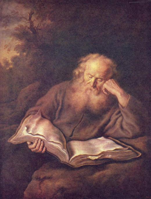 Der Eremit - Salomon Koninck