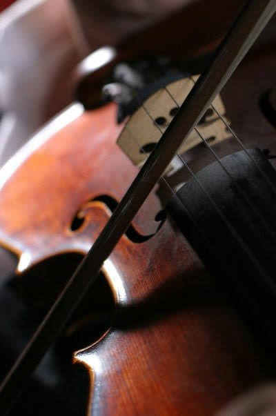 """Expression through violin is traditionally considered to be among the most """"pure"""" forms of musical expression, allowing for a huge range of emotions and music forms."""
