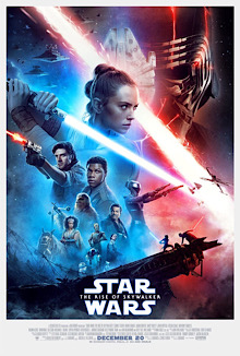 The promotional and theatrical release poster for the Rise of Skywalker movie.