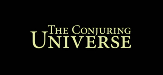 The Conjuring Universe logo!