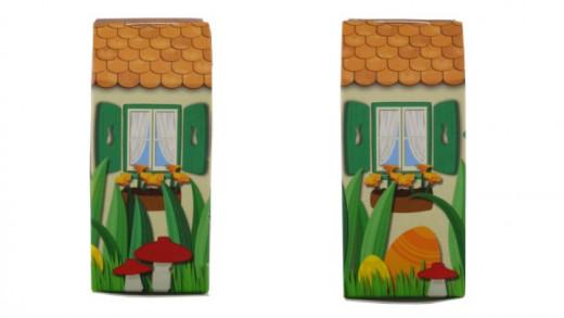 LEGO Easter Bunny Hut 5005249 Box Sides