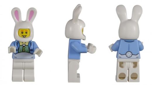 LEGO Easter Bunny Hut Minifigure 5005249