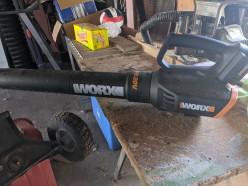 Worx Turbine 20v Leaf Blower