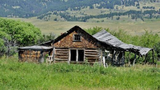 Bertie Brown's Cabin