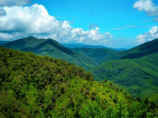 Murlen National Park, Mizoram
