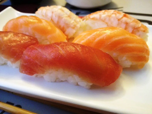 One option for Vitamin D - tuna and salmon