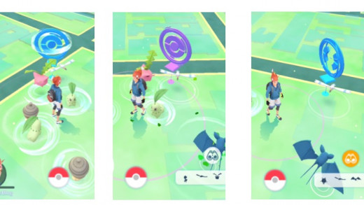 Pokestop Stages New - Spun - Ready to Spin