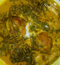 Making Bitterleaf Soup (Ofe onugbu)
