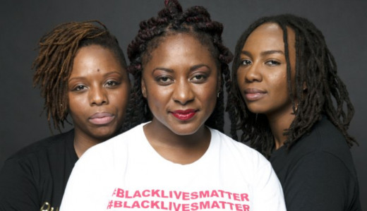 The three women have founded the Black Lives Matter Movement