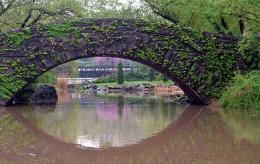 The Gapstow Bridge in Central Park