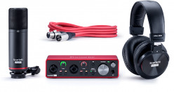 Review of the Amazing Condenser Microphone Focusrite Scarlett 2i2