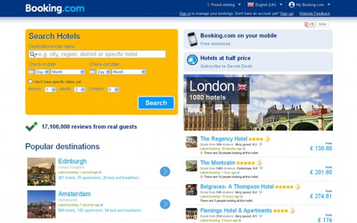 Booking.com Apartments
