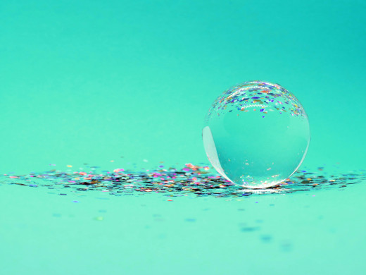 God doesn't need a crystal ball to know what will happen. God is omniscient – all-knowing – so He is able to see what will happen, what is happening and what has happened all at the same time.