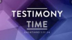 Christians Must Have Testimonies