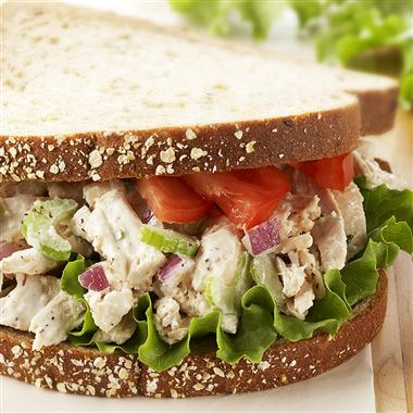 Check Out The Above Delicious Looking Chicken Salad Sandwich