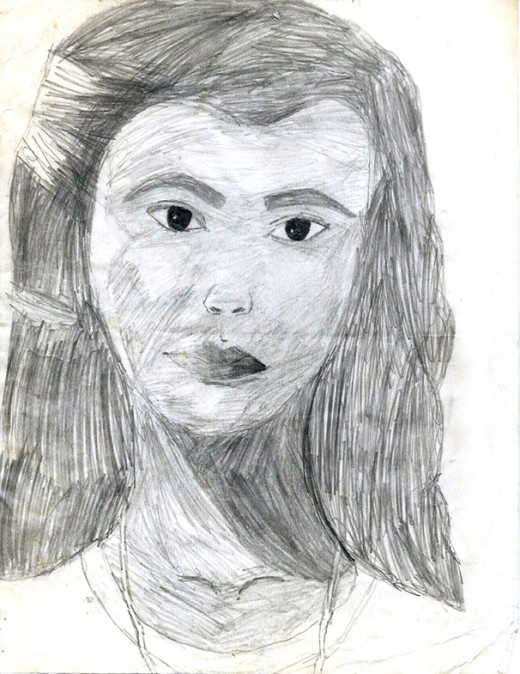 My daughter can draw too.
