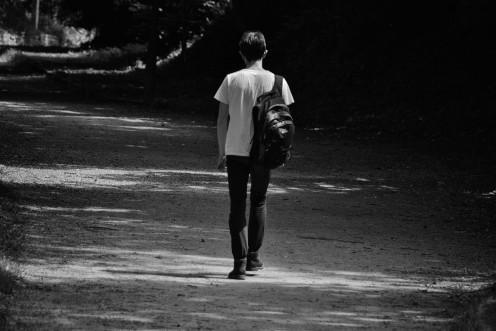 So alone.