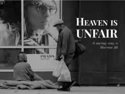 Heaven is unfair