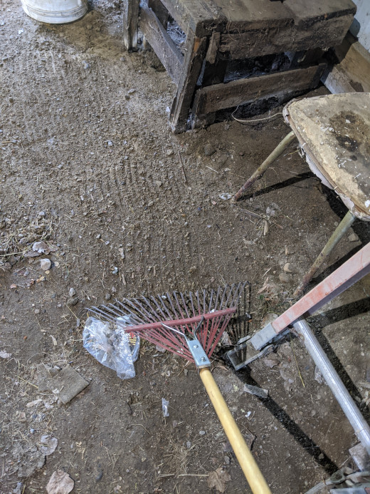 Scrape and pull