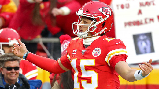 The Chiefs and their super bowl wining QB agree on a 10 year/503 Million dollar contract extension. This contract will kick in when his rookie contract is up in 2 years.