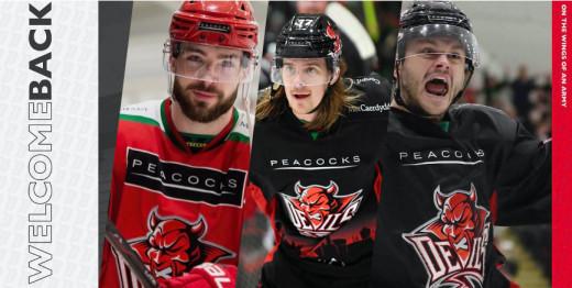 Devils re-sign Brits Batch, Rutkis and Duggan for 2020/21 EIHL season