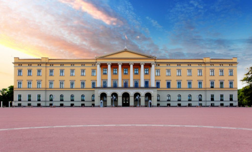 Royal Palace of Oslo.
